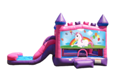 Unicorn Pink Combo 4 in 1 Bouncer