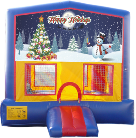 Happy Holiday Bounce House