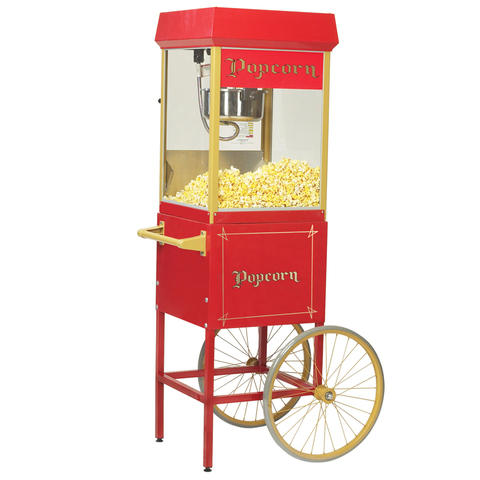 8oz Popcorn Machine with Cart