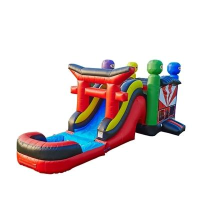The Ninja Jack Water Slide Combo