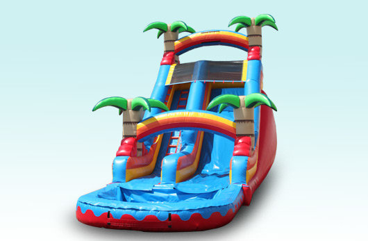 16' Tropical Palm Tree Water Slide