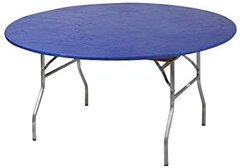 "Kwik-Cover 60"" Round Table ""Blue"""