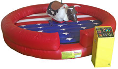 Mechanical Bull RED WHITE BLUE