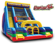 22' Vertical Rush Dual Lane Slide
