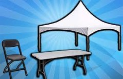 Tent, Tables, & Chairs Package