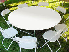"Kwik-Cover 60"" Round Table ""White"""