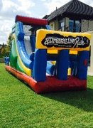 adrenaline rush 16 Foot Slide mini Obstacle