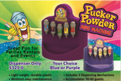 Pucker Powder Machine