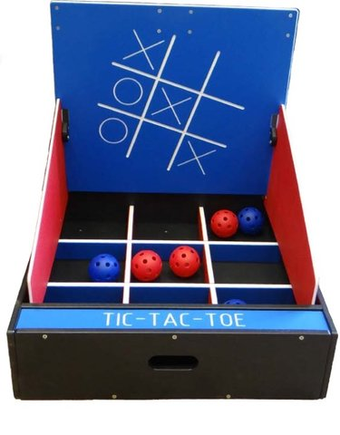 Tic Tac Toe Toss Game