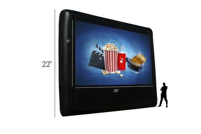 22 ft Movie Screen Package