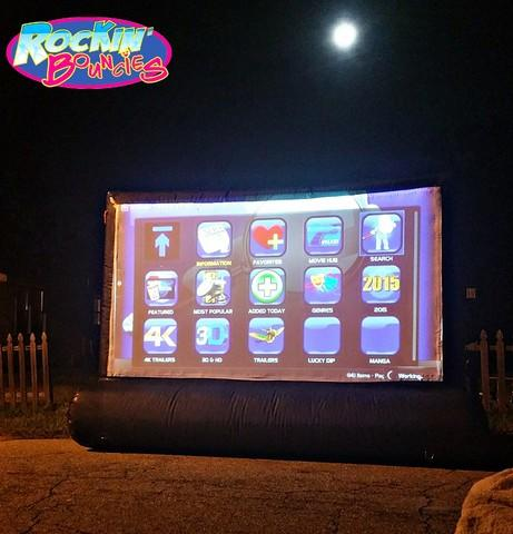 10 ft Sealed Movie Screen Package