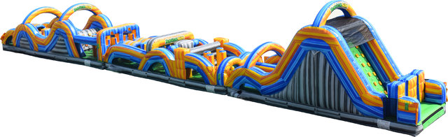 100 FT Rockin' Radical Run Obstacle Course  (Brand NEW)