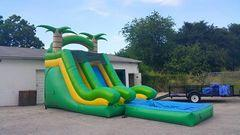 16 ft Twin Palm Waterslide