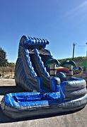 19 ft Rocky Mountain Curvy Waterslide