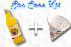 Sno Cone Kit - Pineapple