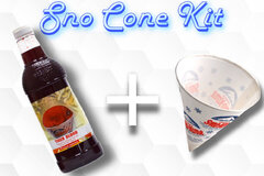 Sno Cone Kit - Root Beer