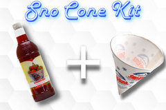 Sno Cone Kit - Strawberry