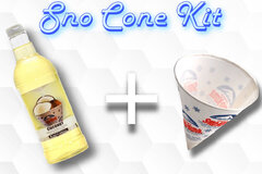 Sno Cone Kit - Coconut