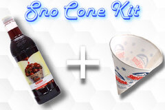 Sno Cone Kit - Cherry