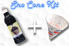 Sno Cone Kit - Grape