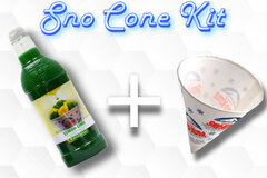 Sno Cone Kit - Lemon Lime