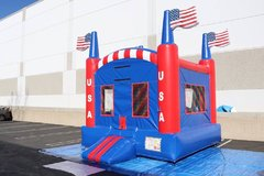 2 in 1 Liberty Bounce House