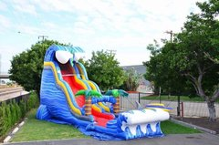 24 ft Shark Attack Waterslide with Pool (Brand New)