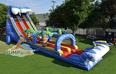24 ft Shark Attack with Slip n Slide (Brand New )