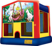 Easter Themed Bounce House
