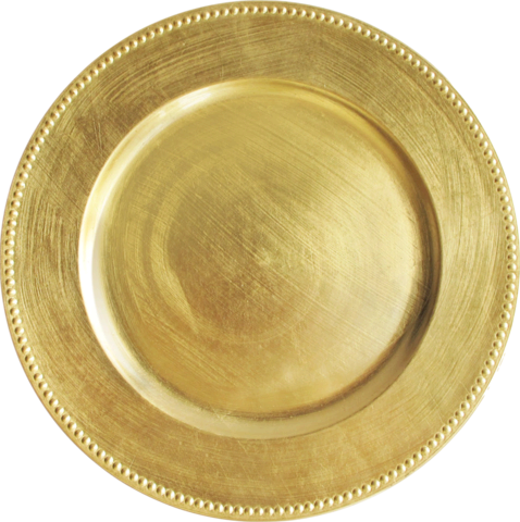 Charger Plate (Gold)