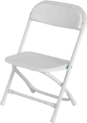 Kids Folding Chair (White)