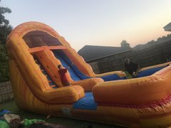 18 foot LAVA SLIDE