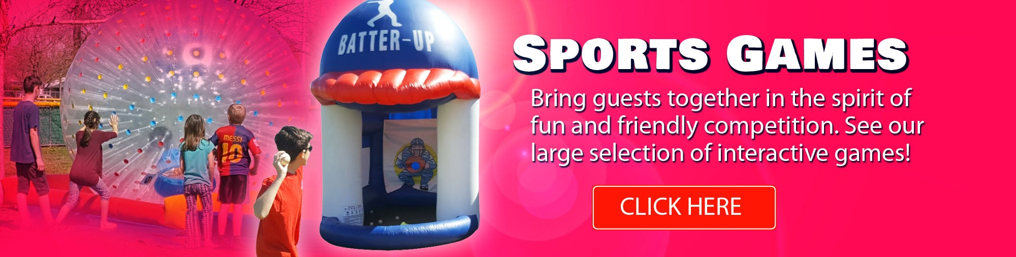 Inflatable Sport Game Rentals