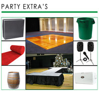 Dance floors Stages and Party Extras