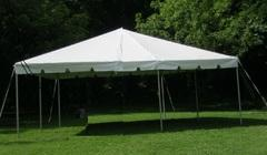 20'X20' FRAME TENT.