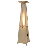 PATIO HEATER PYRAMID W/ 20LB PROPANE TANK INCLUDED