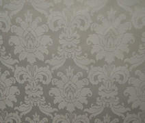 DAMASK BEETHOVEN 54inx120in RECT. (SILVER)