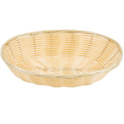 (w)WICKER BREAD BASKET