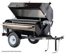 TOW BEHIND CHARCOAL ROTISSERIE
