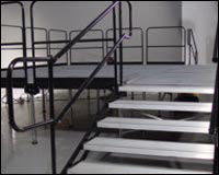 STAGE RAILING PER LINEAR FT.