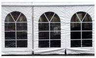 TENT SIDEWALL WINDOWS ( 20' FT' SECTIONS)