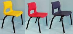 (m) CHAIR-KIDS ASSORTED COLORS (YELLOW, BLUE, RED)