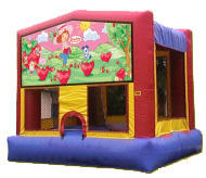 Fun House 2 Strawberry Shortcake Bounce House15x15