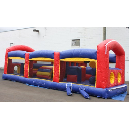 Round Rock inflatable obstacle course rentals