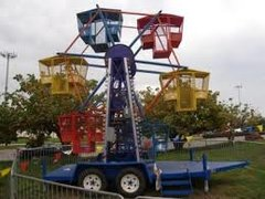 Mini Kiddie Ferris Wheel