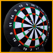 6ft Large Inflatable Dart Game