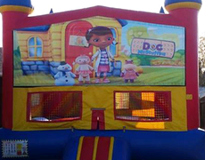 Doc McStuffin Bounce House