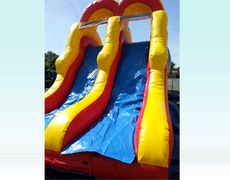 Double Slide For Dry Use Or With Built In Pool