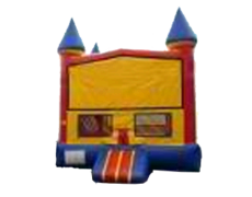 Red/Blue Castle Bounce House