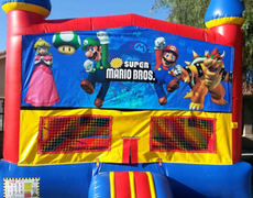 Super Mario Brothers Bounce House